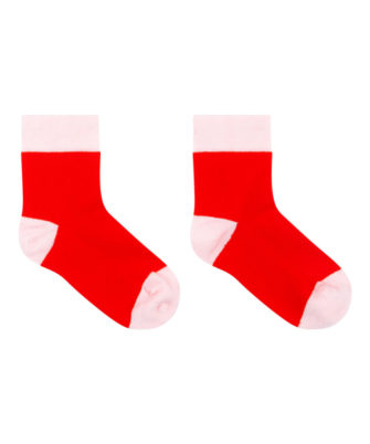 crew socks red-pink
